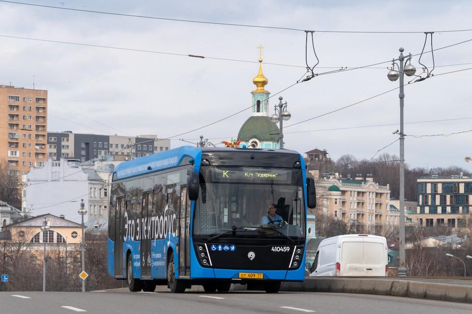 Важная часть «зеленого проекта» - замена городских автобусов на электробусы.
