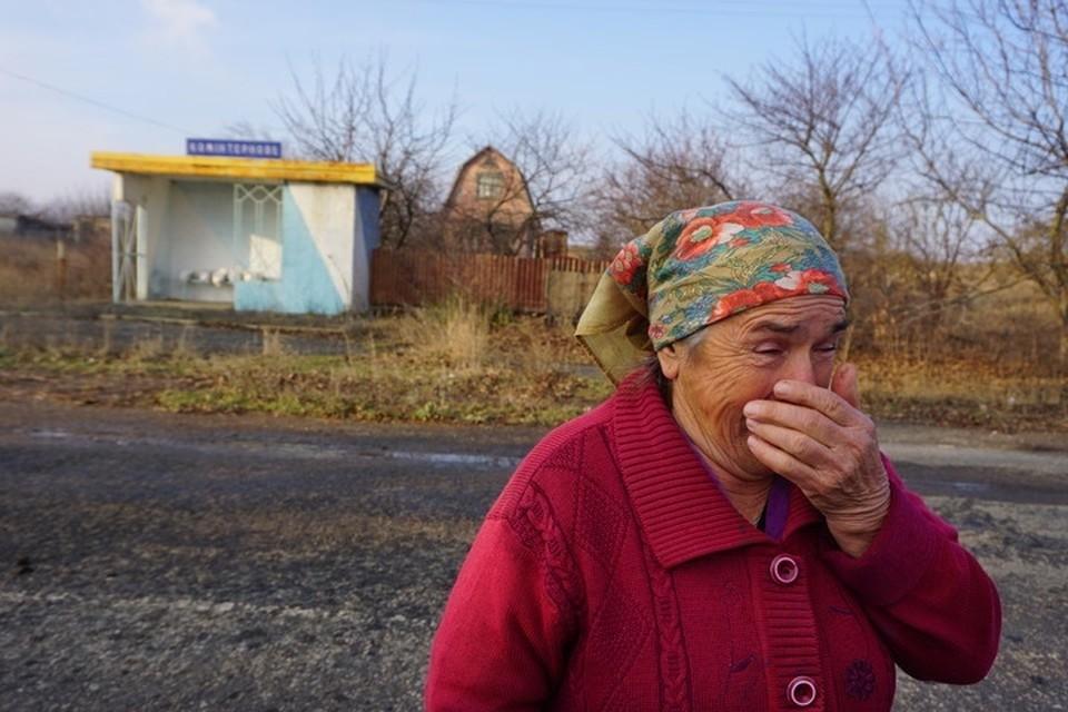 В результате обстрела поврежден дом в Золотом-5 (архивное фото КП)
