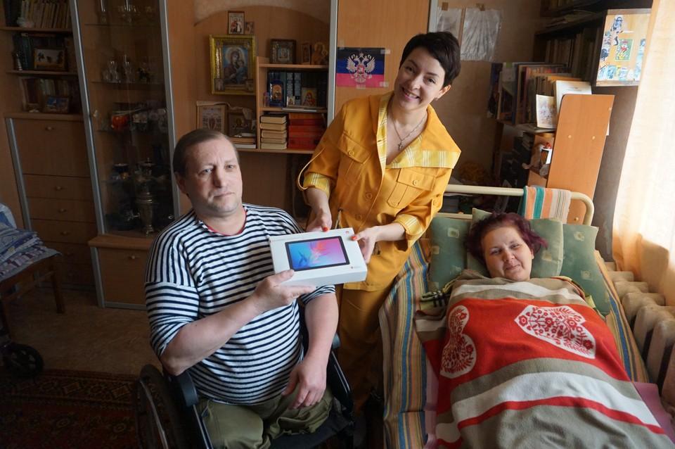 """На публикацию в """"Комсомолке"""" отозвалось немало людей, которых тронула история Наташи и Юрия. Именно с помощью наших читателей удалось сделать подарок этой семье"""