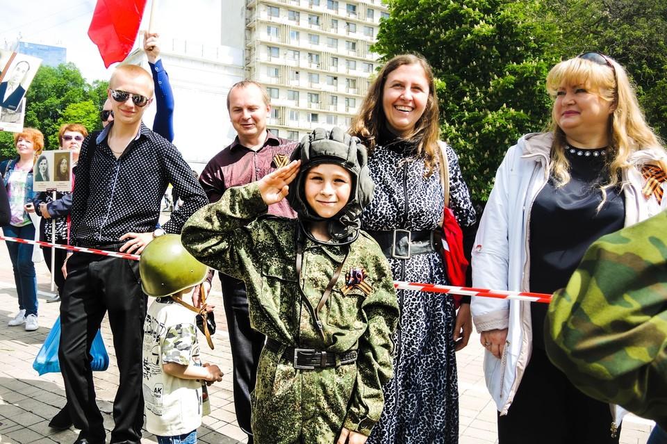 Традиционно на майские праздники в центре Донецка будут проводиться массовые мероприятия