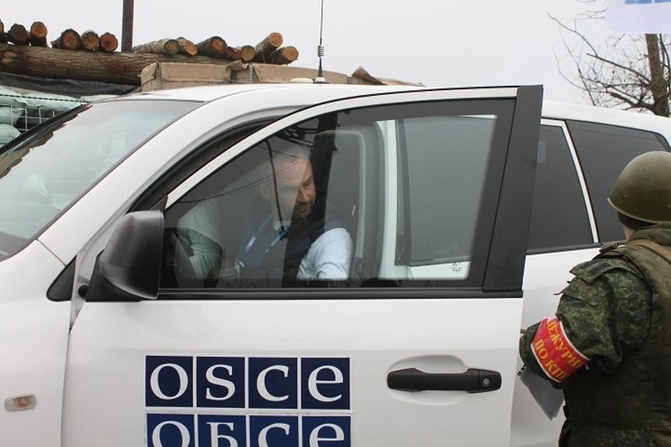 В оборонном ведомстве Республики неоднократно сообщали о том, что противник препятствует работе наблюдателей от ОБСЕ