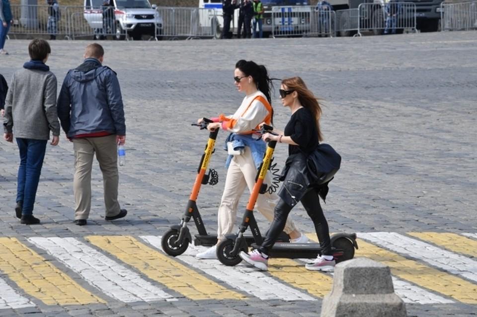 В Краснодаре создано 27 километров выделенных полос для велосипедов и самокатов