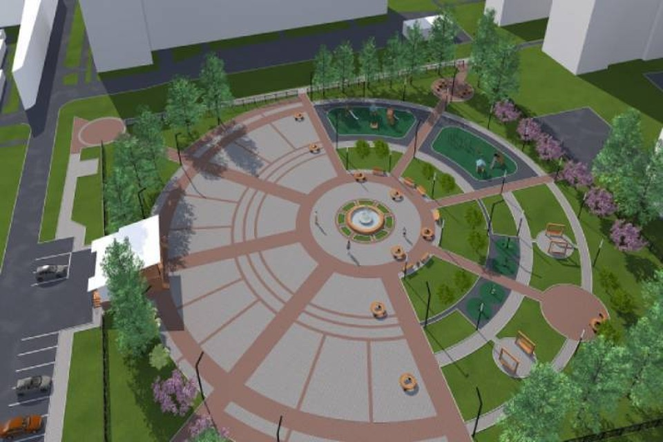 Для жителей Нововятска в 2022 году могут построить новый сквер. Фото: admkirov.ru