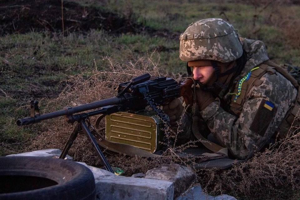 Украинские военные стреляли из гранатометов и пулеметов. Фото: Пресс-центр штаба ООС