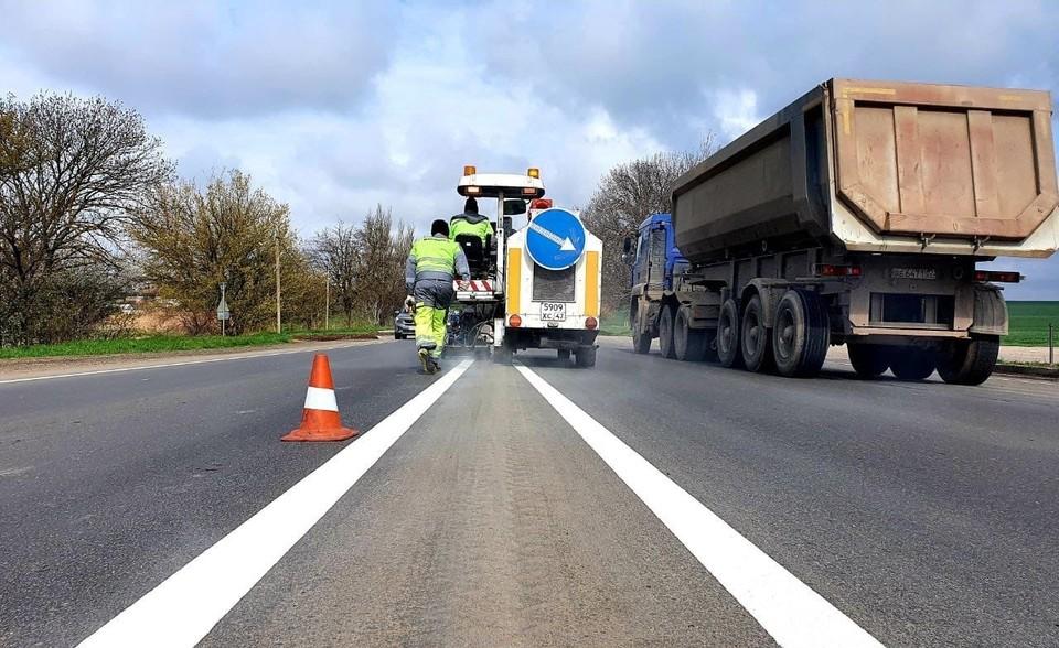 Ремонт выполнялся в рамках национального проекта «Безопасные качественные дороги». Фото: Пресс-служба АО «ВАД».