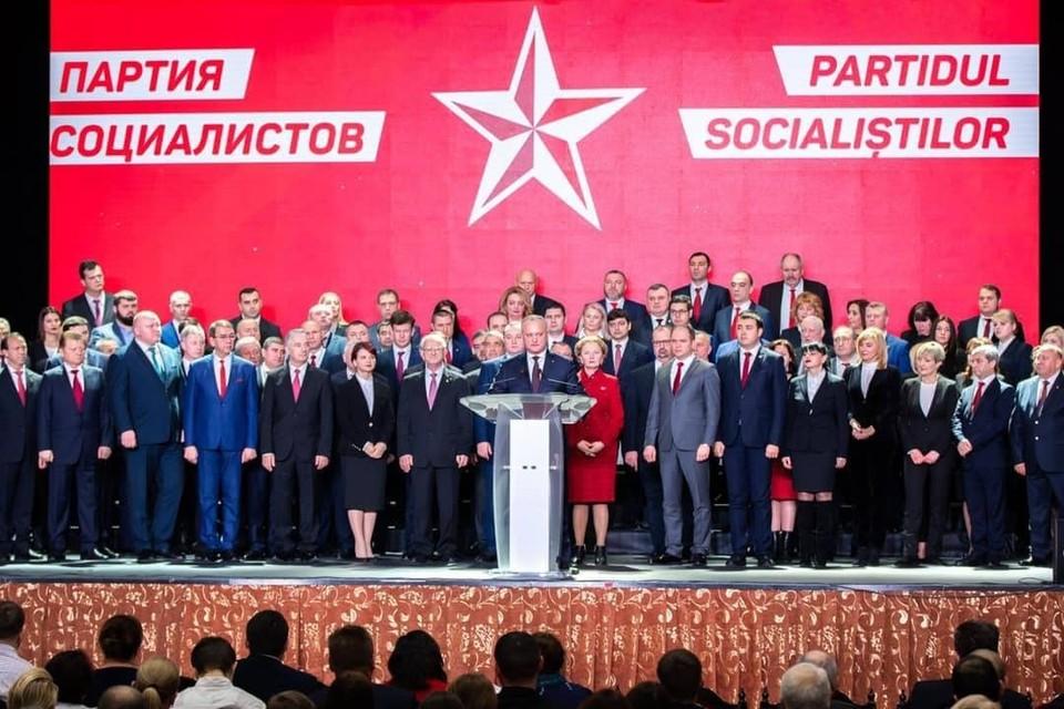 Игорь Додон: Партии должны сосредоточиться на социальных проектах, а не на проведении выборах. Фото:соцсети