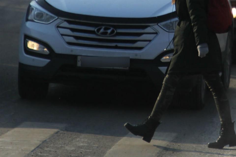 Водителя сбившего девочку разыскивают в Иркутске