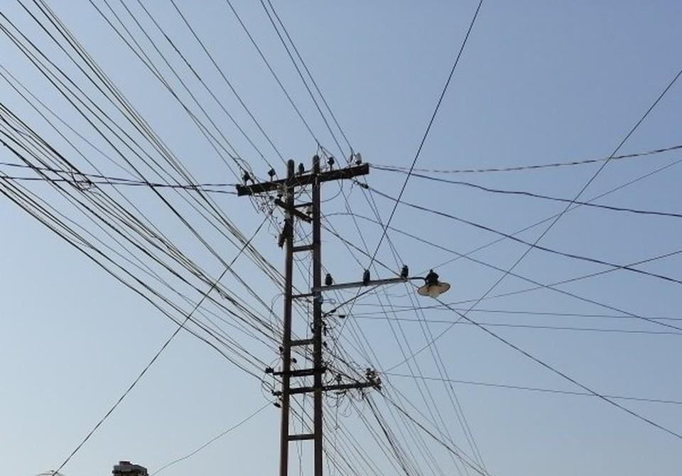 Состояние электросетей на полуострове не всегда идеально.