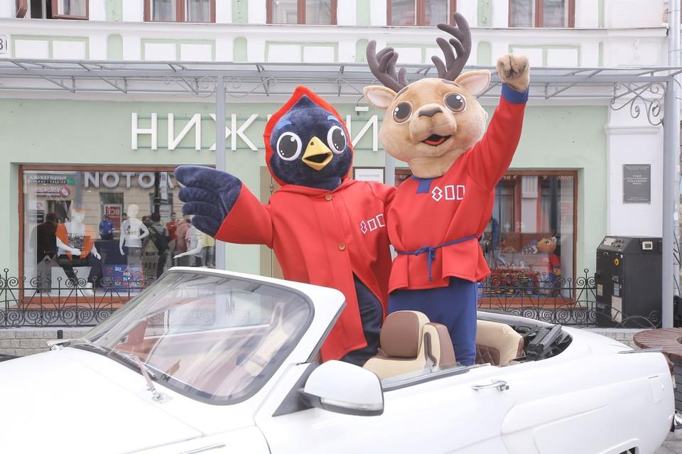 На Большой Покровской открыли флагманский магазин «Нижний 800». Фото: Юлия Горшкова, ИА «Время Н»