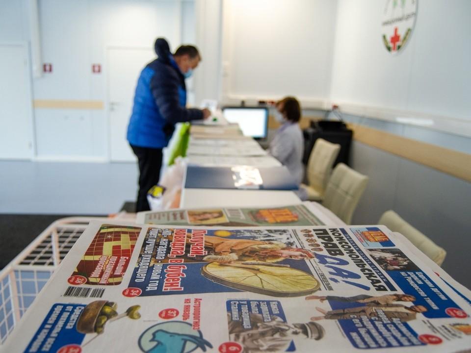 «Комсомольская правда» обеспечивает больницы свежей прессой