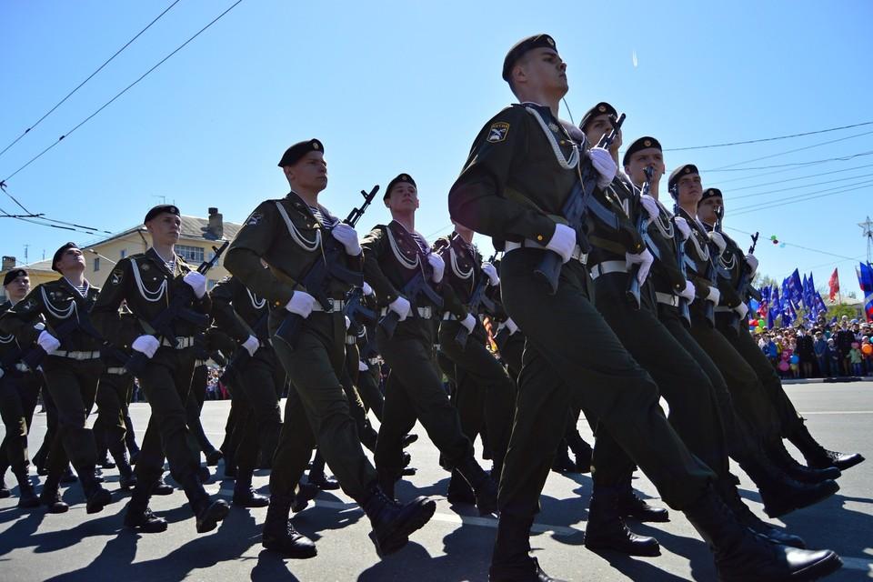 Парад Победы в Липецке вернется на площадь Героев