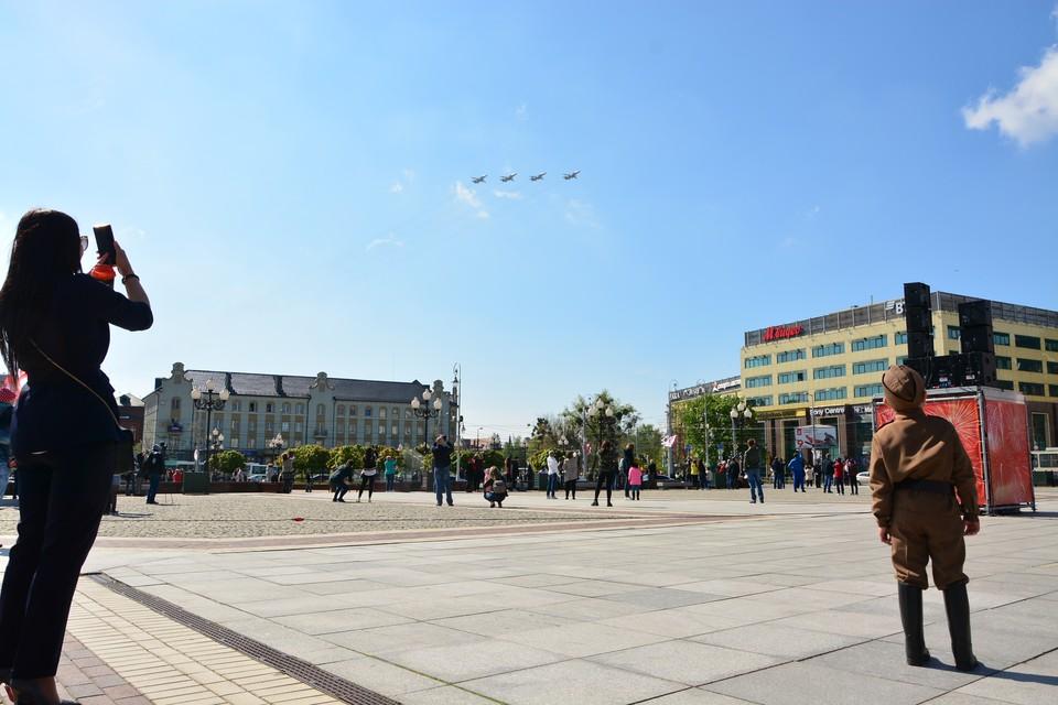 Парад 2020 в Калининграде проходил так.