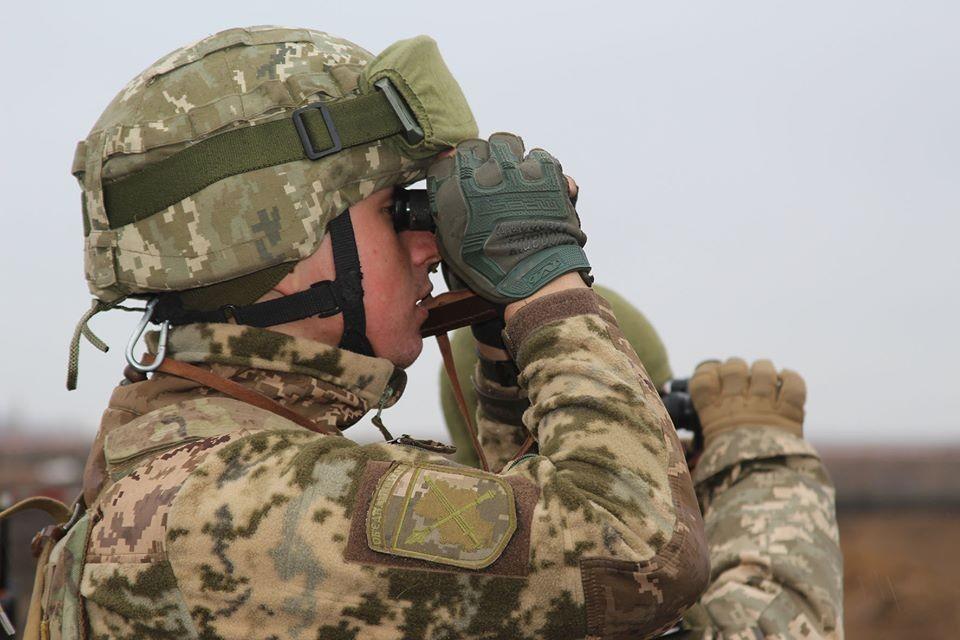 В подразделениях недосчитались приборов ночного видения и тепловизоров. Фото: пресс-центр штаба ООС