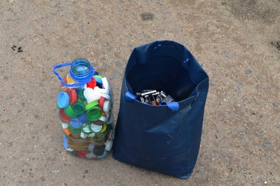 Собранный мусор отправится на переработку