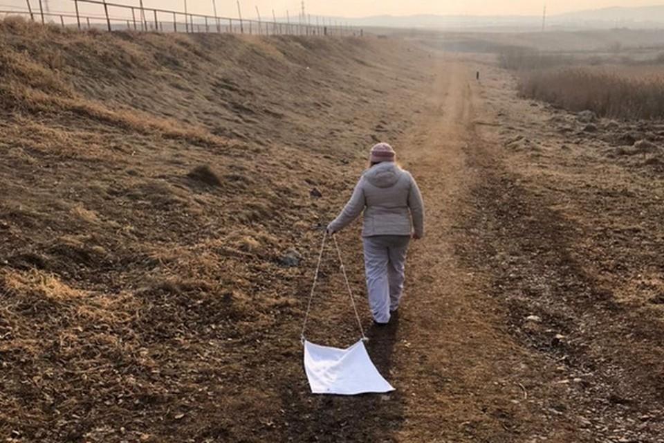 Красноярск начали обрабатывать от клещей. Фото: пресс-служба администрации города