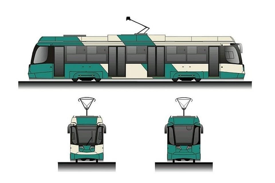 Так будут выглядеть новые вагоны. Фото: Миндортранс Челябинской области
