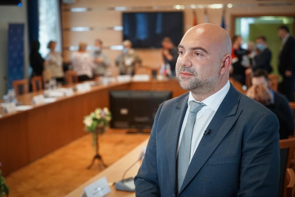 Тимофей Баженов заявил о своей готовность баллотироваться в Государственную думу России. Фото: Максим МАНЮРОВ.