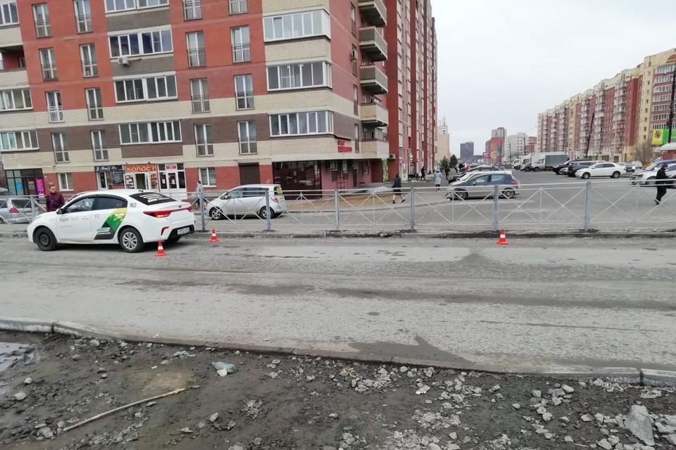 Сибирячка на иномарке сбила школьника, перебегавшего дорогу. Фото: Госавтоинспекция по Новосибирску