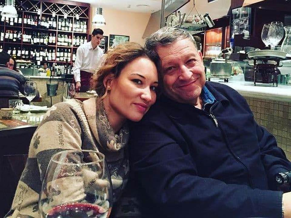 Борис Грачевский с женой.