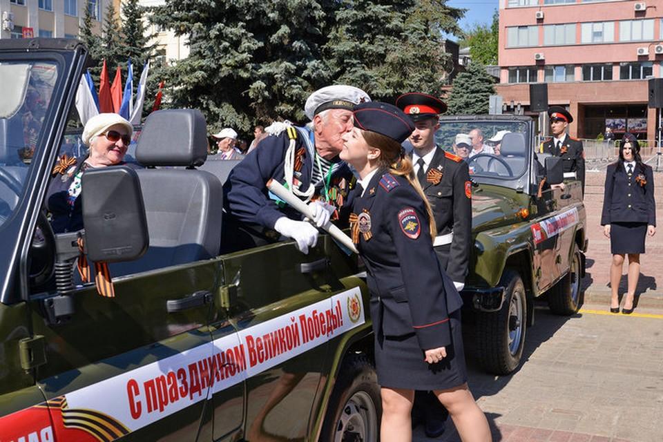 7 мая в Брянске проведут генеральную репетицию Парада Победы.