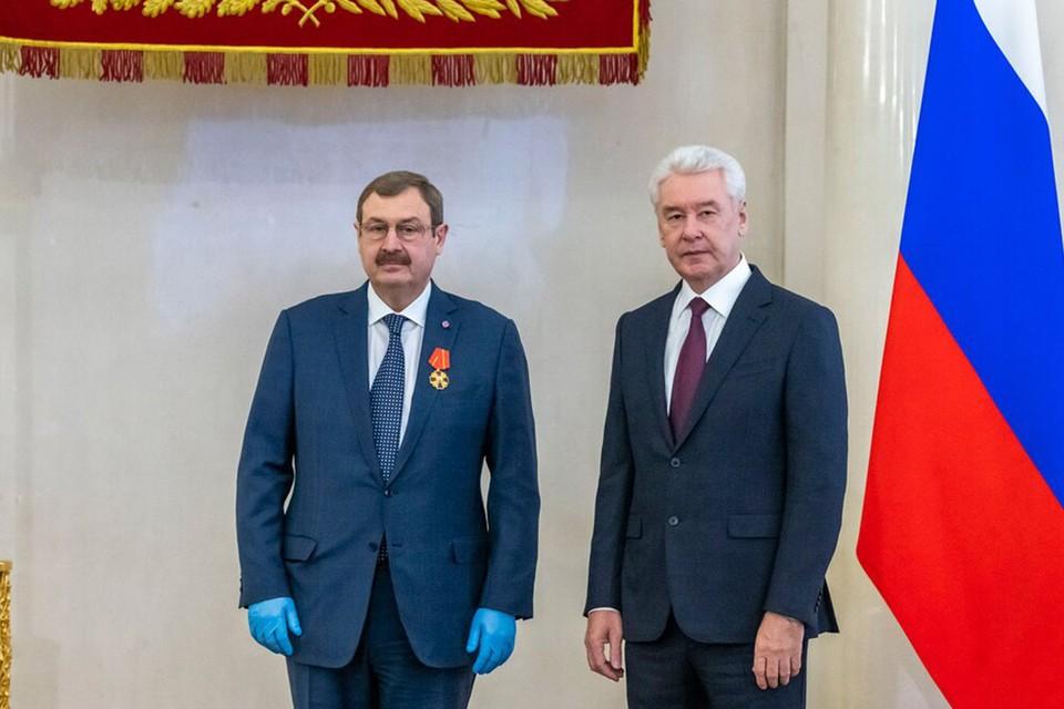 Фото В. Новикова, Пресс-служба Мэра и Правительства Москвы.