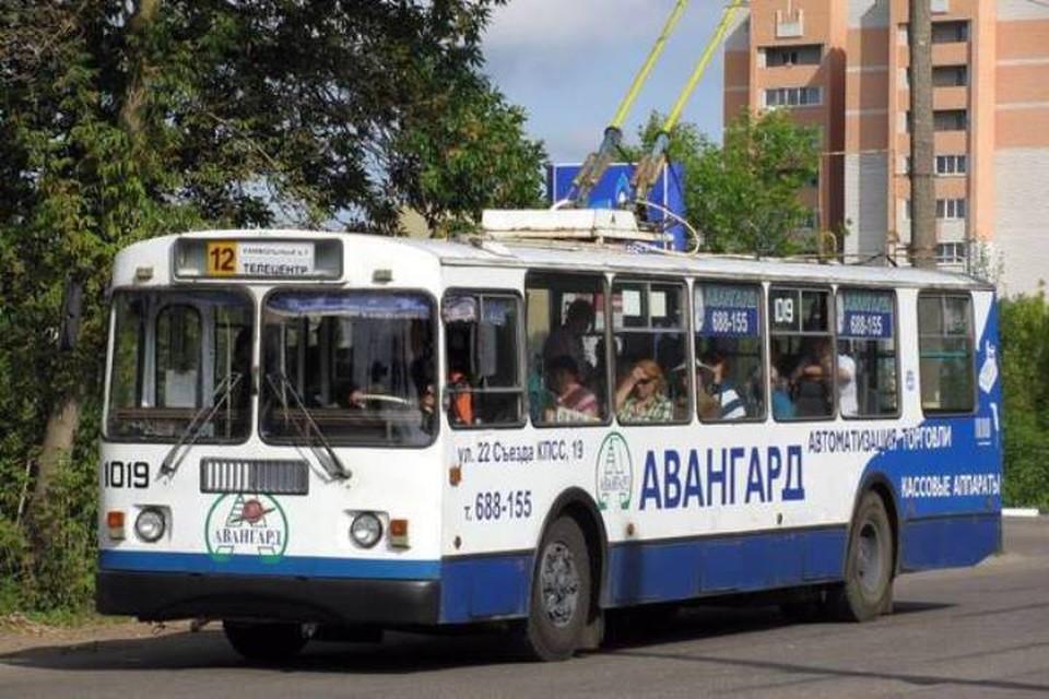 """В Брянске с 1 мая изменят маршрут троллейбуса №12. Фоо:""""Городской""""."""