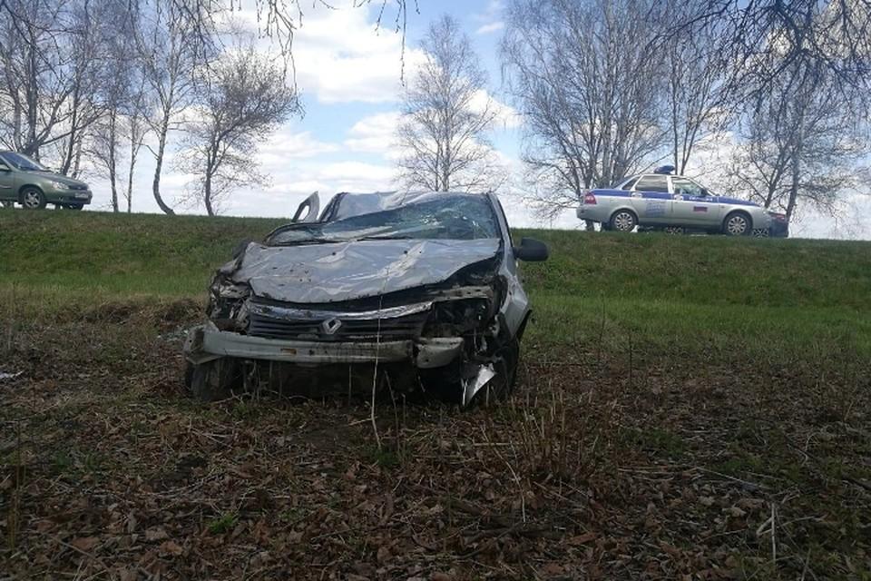 В Стародубском районе столкнулись три автомобиля. Фото: УГИБДД УМВД России по Брянской области.