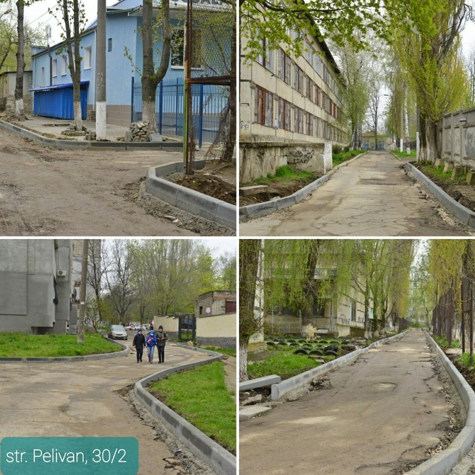 В Кишиневе отремонтируют 35 дворов (Фото: соцсети).