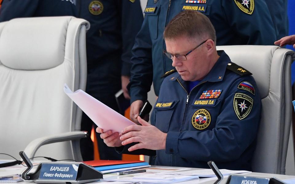 Заместитель Министра РФ по чрезвычайным ситуациям Павел Барышев