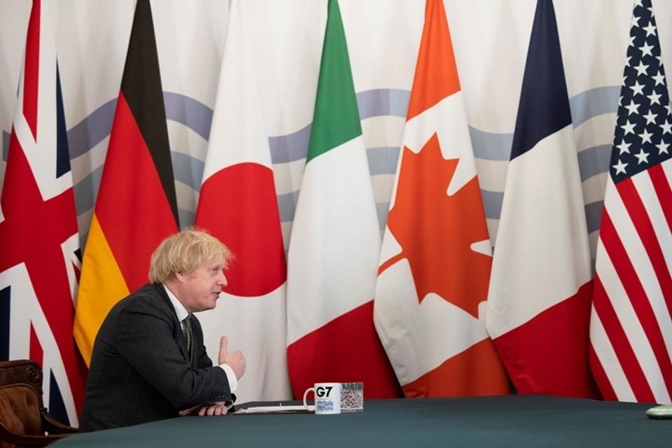 Встреча G7 в Лондоне пройдет с 3 по 5 мая