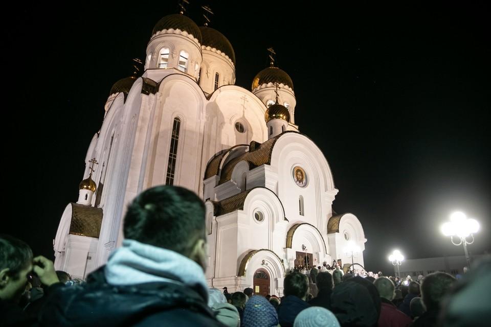 Красноярск отмечает Великую Пасху