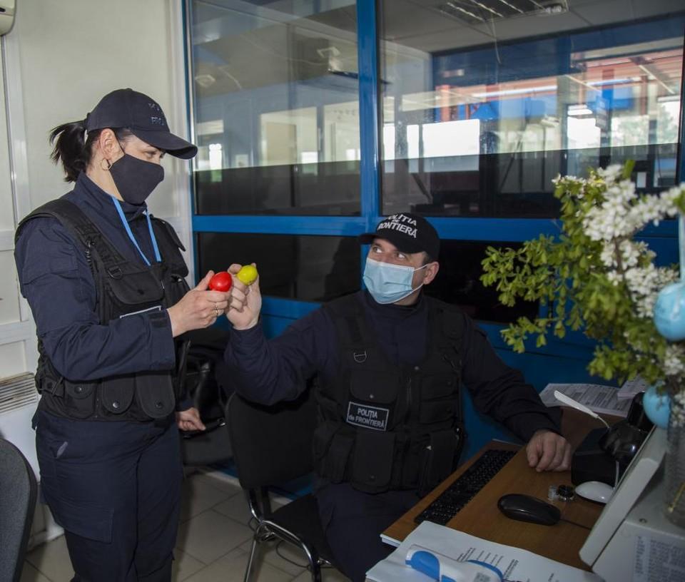 У Пограничной полиции на Пасху особенно много работы. Фото: border.gov.md