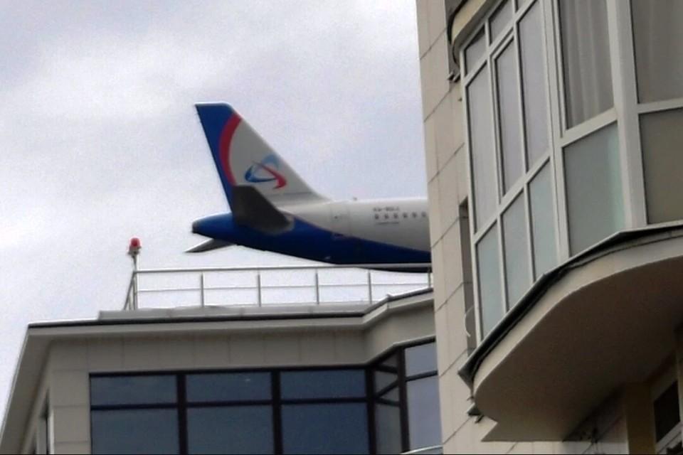 Авиаинцидент произошел во время полета.