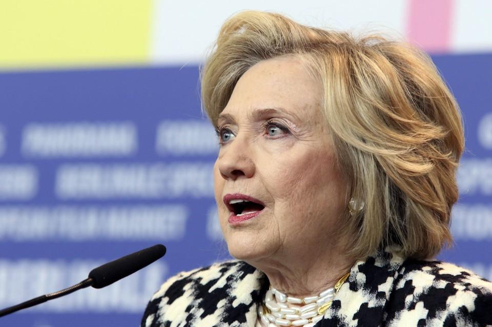 Экс-госсекретарь США Хиллари Клинтон.
