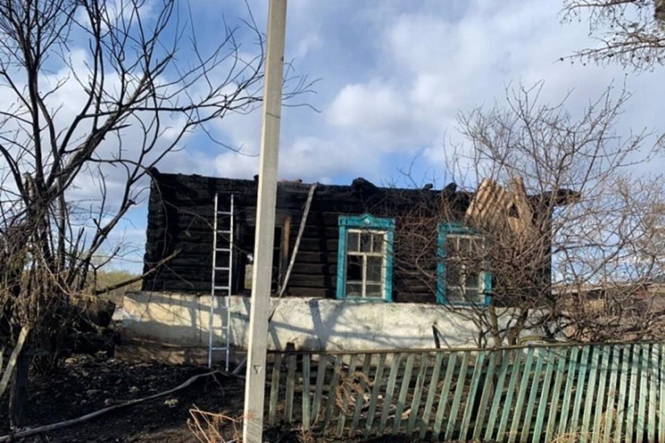Два пожара за сутки потушили пожарные ЕАО. Фото: пресс-служба ГУ МЧС России по ЕАО.