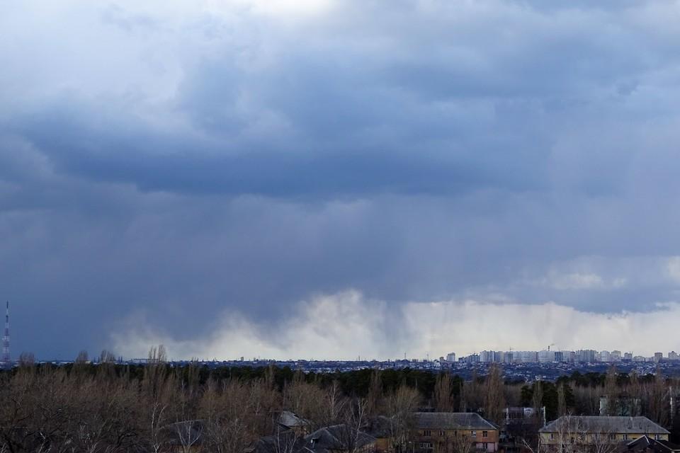 В Липецкой области ожидается гроза и сильный ветер