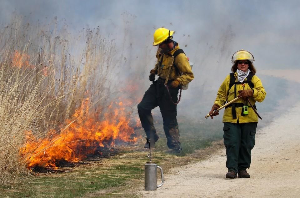 Службой пожаротушения огонь был локализован. Жертв и пострадавших нет