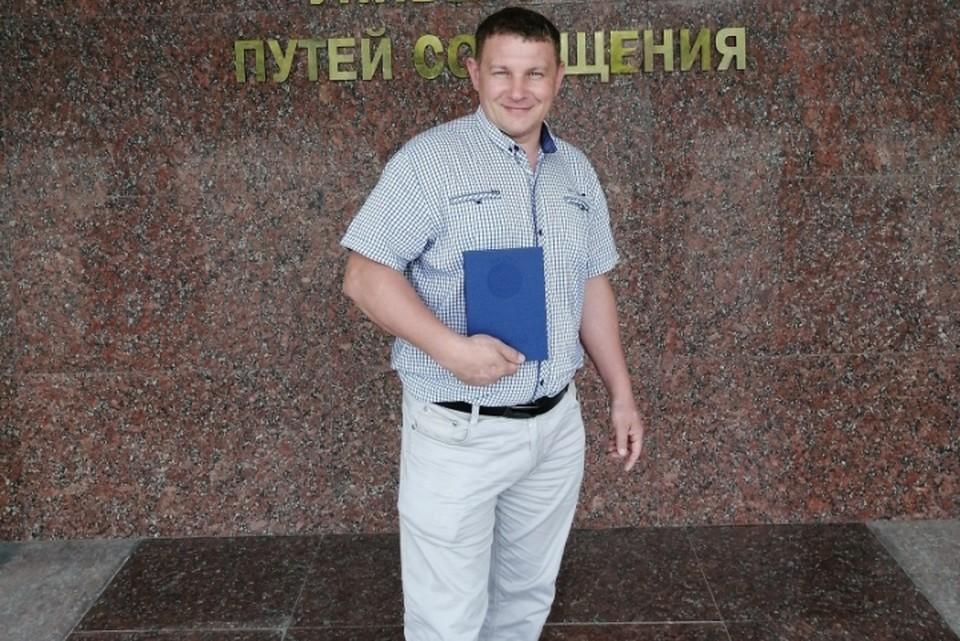 Николай Иванцов первым подъехал к месту аварии