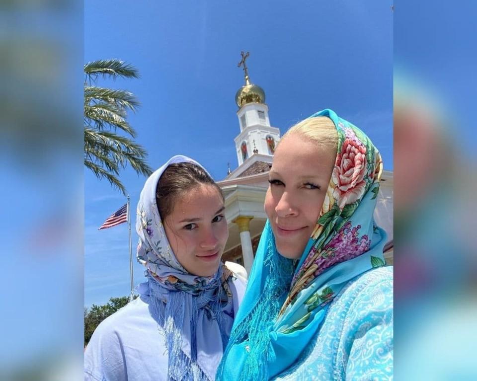 Екатерина Одинцова отметила Пасху в Майами