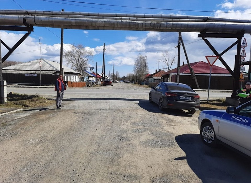 Авария случилась на этом перекрестке. Фото: УГИБДД по Свердловской области