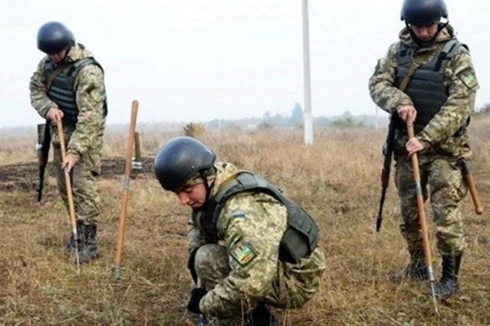 За годы войны Донбасс стал территорией, нашпигованной смертью. Фото: штаб «ООС»