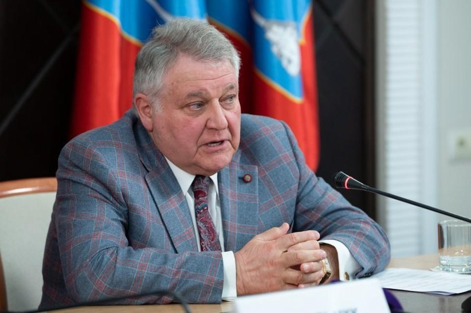 Михаил Ковальчук. Фото: sev.gov.ru