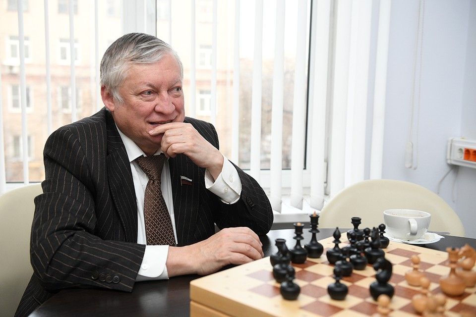 Шахматист, заместитель председателя комитета Госдумы РФ по международным делам Анатолий Карпов