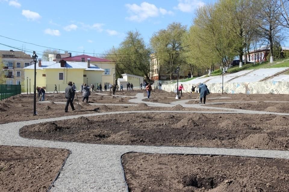 В Брянске 12 мая откроют «Сад Победы» . Фото: пресс-служба Брянского городского Совета.