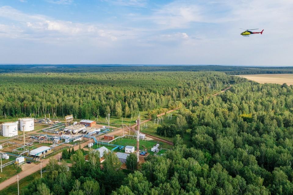 «Охрана окружающей среды – одно из приоритетных направлений деятельности «Башнефти» Фото: Артур Салимов