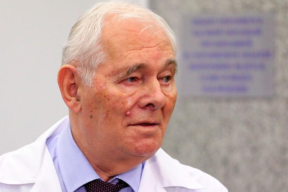 Президент Национальной Медицинской палаты, президент НИИ неотложной детской хирургии и травматологии Леонид Рошаль
