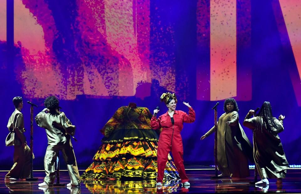 Манижа успешно выступила на Евровидении.