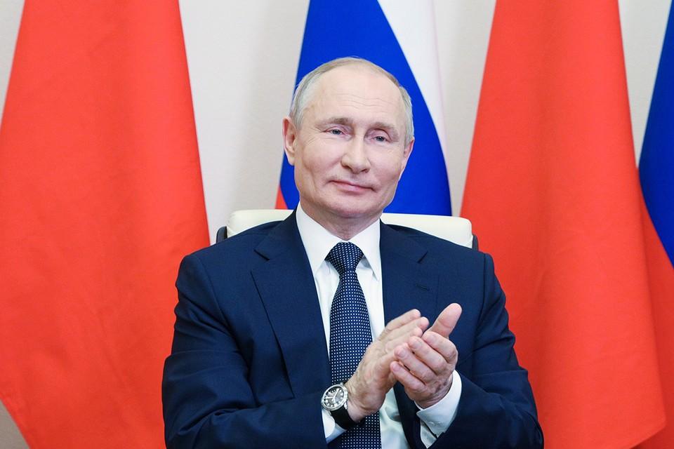Президент РФ Путин принял участие в церемонии начала постройки новых блоков АЭС в КНР/