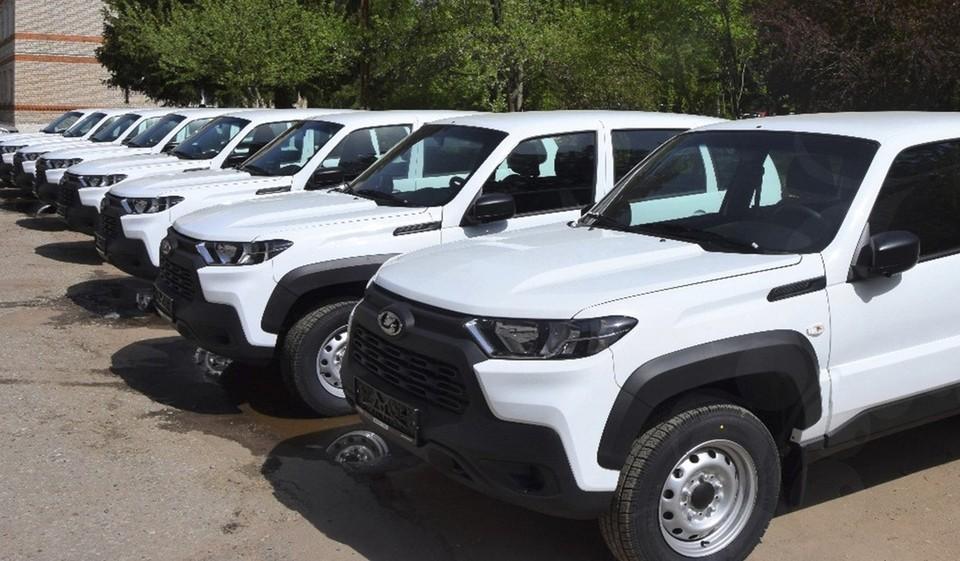 25 машин будут ездить по труднодоступным населенным пунктам