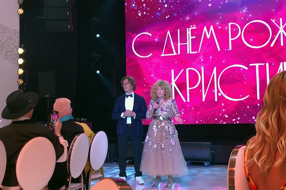 Первой взяла слово Алла Борисовна Пугачева